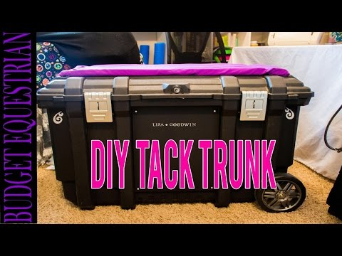 How To Make Your Own Tack Trunk