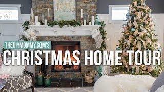 CHRISTMAS HOME TOUR 2017 | Rustic Glam Farmhouse | The DIY Mommy