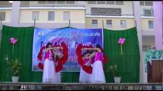 Múa: Tinh ta bien bac dong xanh - Lớp 12A1 trường THPT An Biên năm 2012.MTS