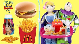 Disney Pixar's Toy Story McDonald's Happy Meal Toys with Buzz Lightyear & Sheriff Woody