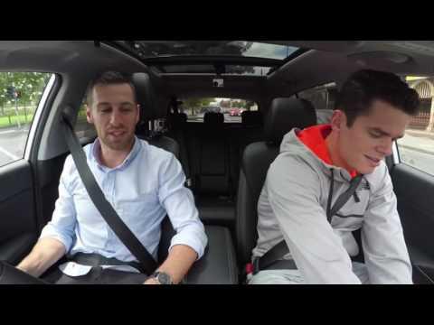 Milos Raonic Funny Drive Australian Open 2016