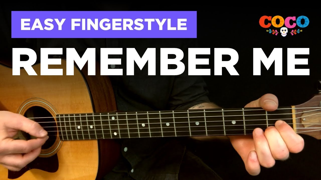🎸 Remember Me • Easy fingerstyle cover w/ tabs (