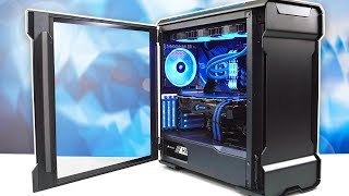 $3000 Gaming PC Time Lapse Build - BIG BLUE