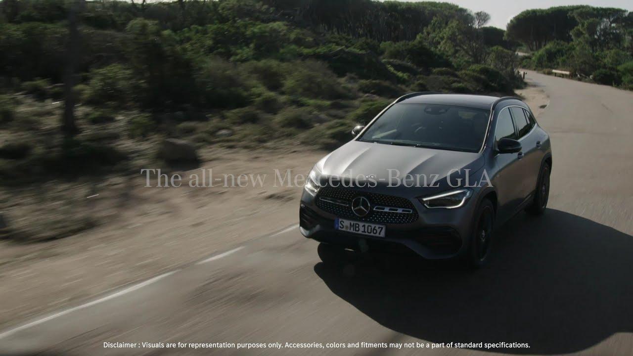 The all-new Mercedes-Benz GLA. #DrivenByCuriosity