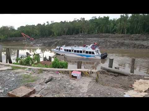 Detik Detik Kedatangan Speed Boat PT Mandiri Inti Perkasa