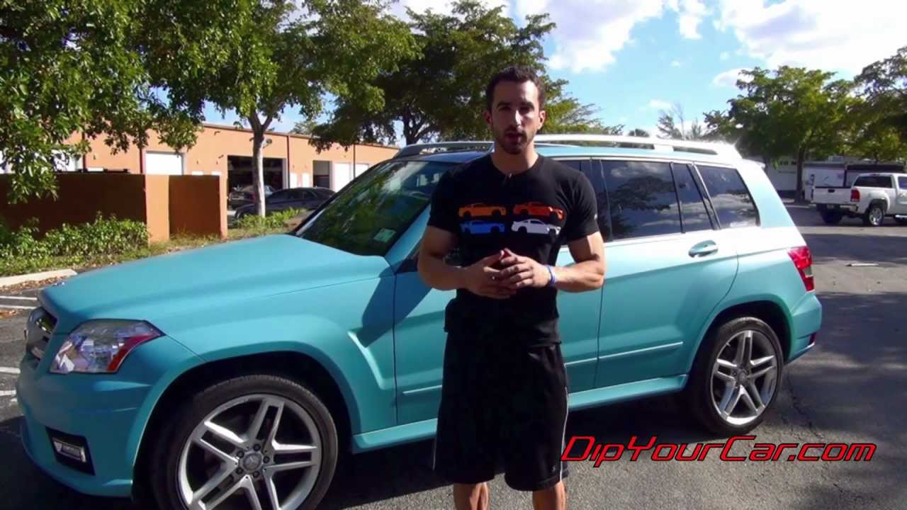 Tiffany Blue Plasti Dip - How to tint Plasti Dip
