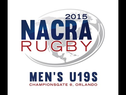 2015 NACRA U19 RUGBY CHAMPIONSHIPS PLATE SF - USA SOUTH RED VS CAYMAN ISLANDS