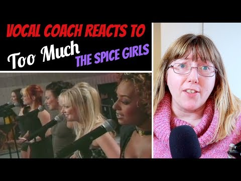 Vocal Coach Reacts To Too Much - The Spice Girls LIVE - American Music Awards 1998