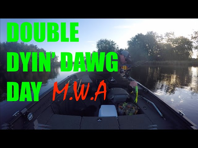 Double Dyin' Dawg Day - MUSKY Fishing the Wi River