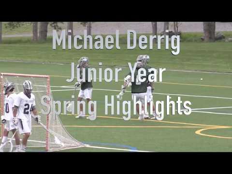 Michael Derrig Junior Year Spring Highlights 2018
