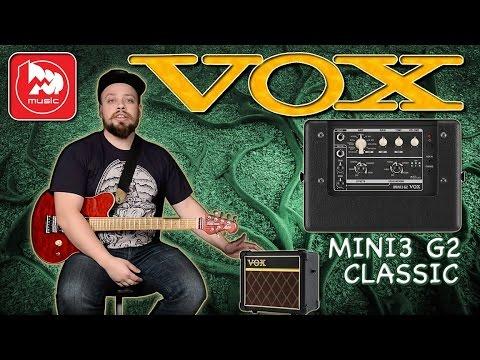<b>VOX MINI3</b>-<b>G2</b> CLASSIC - <b>гитарный</b> комбик (работает от батареек)