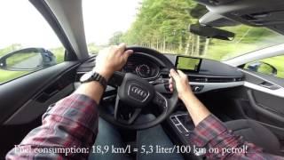 Audi A4 Avant 1,4 Tfsi Test - On-Board