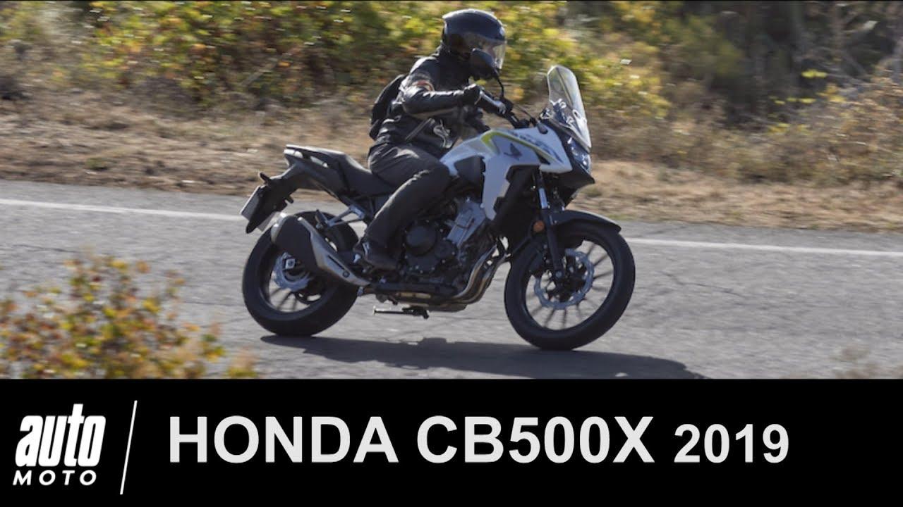 2019 honda cb500x essai du trail pour permis a2 auto moto. Black Bedroom Furniture Sets. Home Design Ideas
