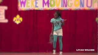 My Baby Girl Dancing to Mindless Behavior Ms Right @ Her School Talent Show!