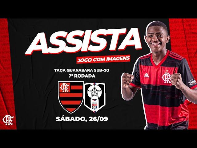 Flamengo x Resende AO VIVO na Fla TV | Carioca Sub-20 2020