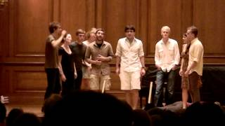 Good Question sings Show Me The Meaning of Being Lonely (Williams College A Capella)