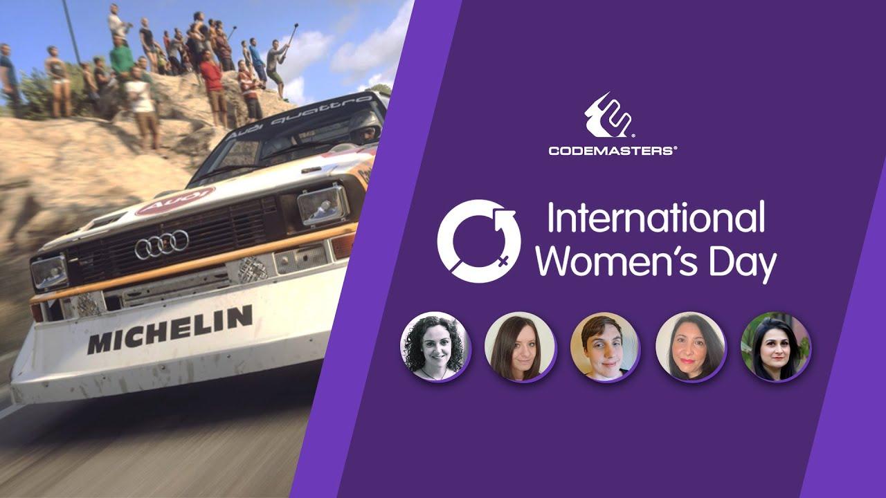 The women of Codemasters | International Women's Day 2021
