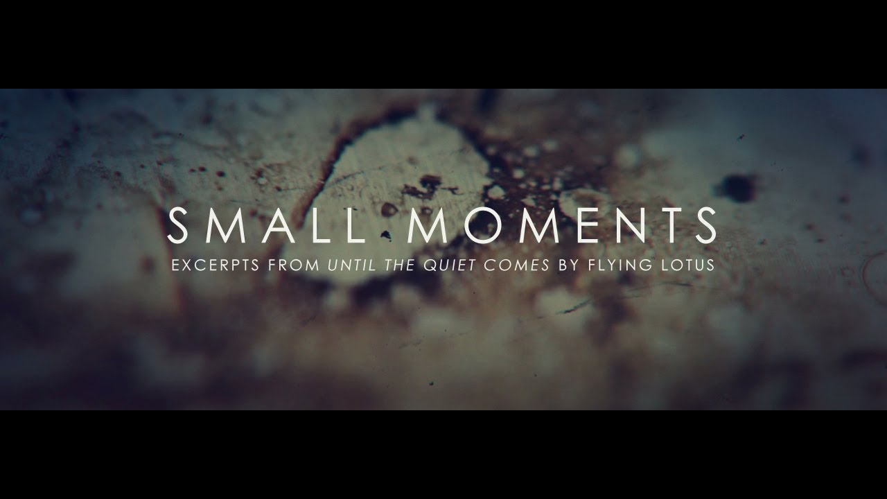 Expanding on your small moment