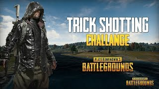 PUBG :- TRICK SHOT CHALLANGE(CUSTOM ROOM) NEW UPDATE 0.9.5
