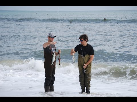 A day of surf fishing hatteras nc doovi for Outer banks surf fishing tips