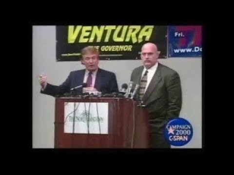 That Time Donald Trump And Jesse Ventura Talked Campaign Strategy