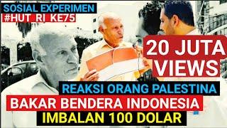 Download lagu REAKSI ORANG PALESTINA BAKAR BENDERA INDONESIA⁉️ IMBALAN 100 DOLAR⁉️