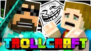 Minecraft | SSUNDEE THREATENS ME TROLL?! - Troll Craft