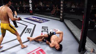 BRUCE LEE vs BRUCE LEE 2K19 | EA SPORTS UFC 3