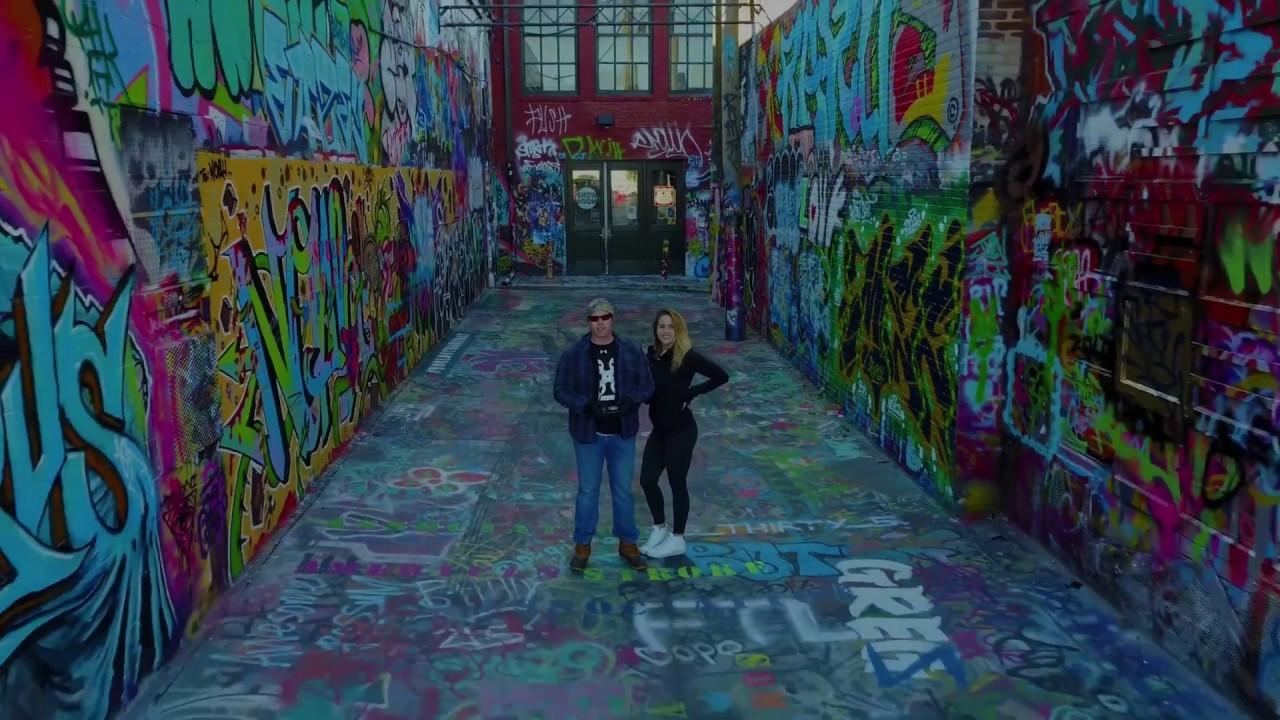 Graffiti Alley Dronie Dmv Drones Baltimore Aerials Baltimore City Art
