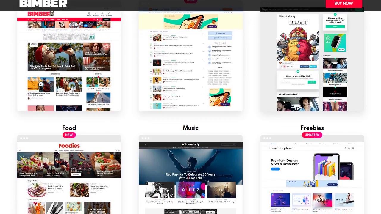Bimber Viral Magazine Wordpress Theme Youtube