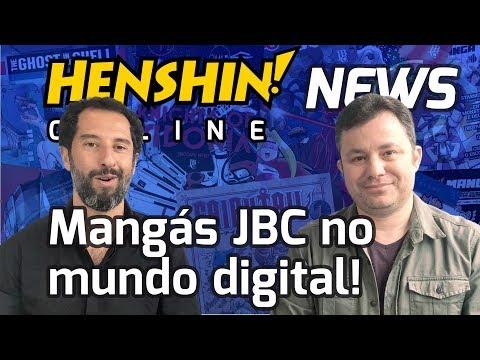 Henshin Online Extra - Mangás digitais!