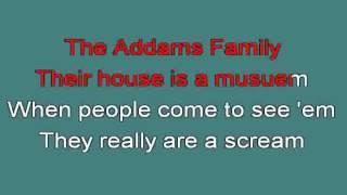 THE ADDAMS FAMILY TV THEME 712959 [karaoke]