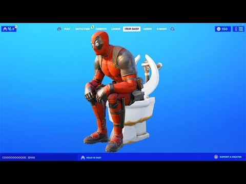 *ÚJ* DEADPOOL ITEM SHOP MINI LIVE EVENT!! 😱