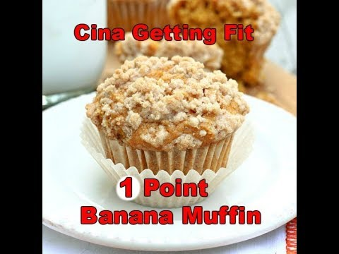 weight-watchers-freestyle-~-1-point-banana-muffin