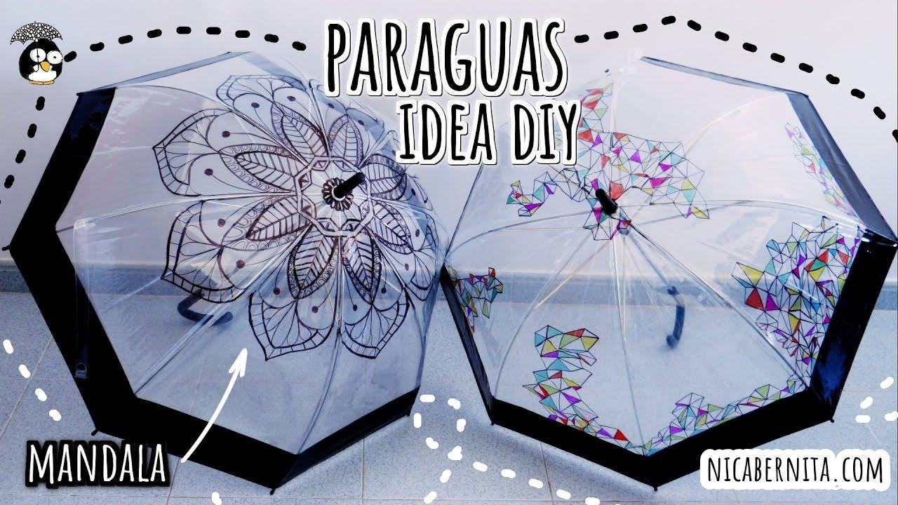 Ideas Para Decorar Paraguas