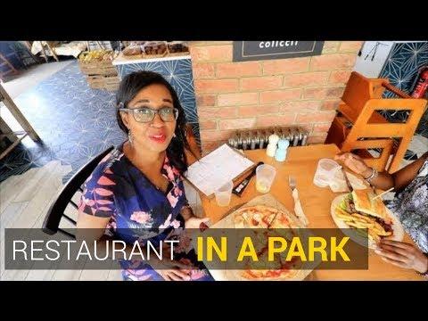 Restaurants near me - Alfresco Dining in the Dulwich Clock Cafe in Dulwich