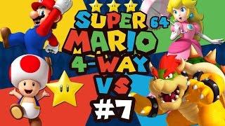 Super Mario 64: 4 Player Versus - Episode 7 - (Feat. ProtonJon & NintendoCapriSun)