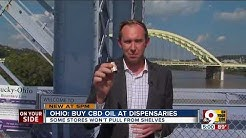 Ohio lawmakers saying CBD oil can only be sold at dispensaries