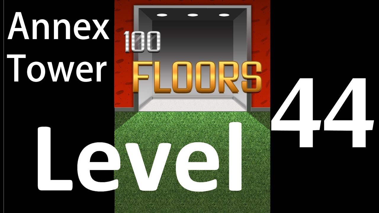 100 Floors Level 44 Annex Tower Solution Walkthrough Youtube