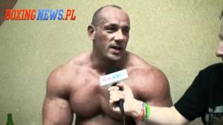 Wywiad - Hardkorowy Koksu po wygranej walce z Najmanem (27.04.12) 2017 Video