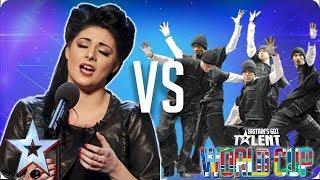 Lucy Kay vs Diversity | Britain's Got Talent World Cup 2018