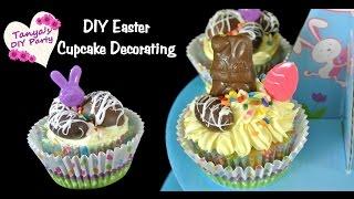 Easter Cupcake Decorating Diy