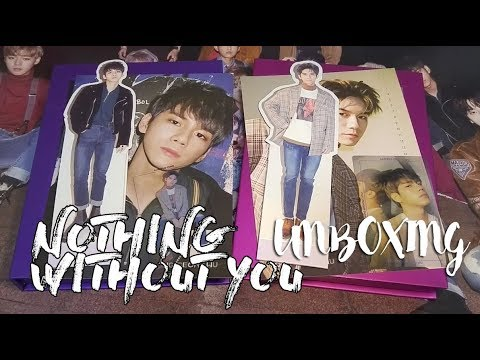 WANNA ONE 1st MINI ALBUM PREQUEL REPACKAGE《1-1=0 (NOTHING WITHOUT YOU)》UNBOXING