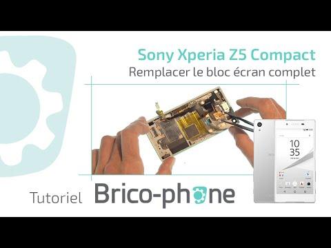Tutoriel Sony Xperia Z5 compact : remplacer le bloc écran complet HD