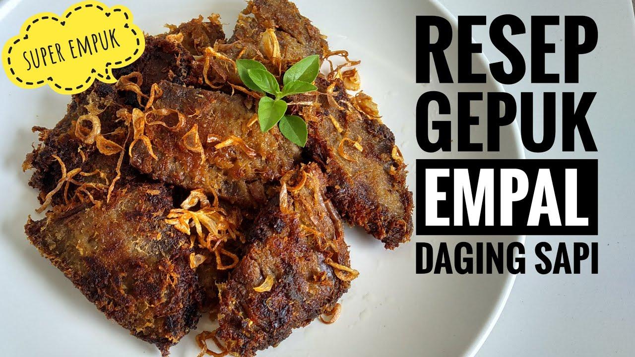 Cara membuat daging gepuk,resep gepuk empal daging sapi super empuk enak dan lezat