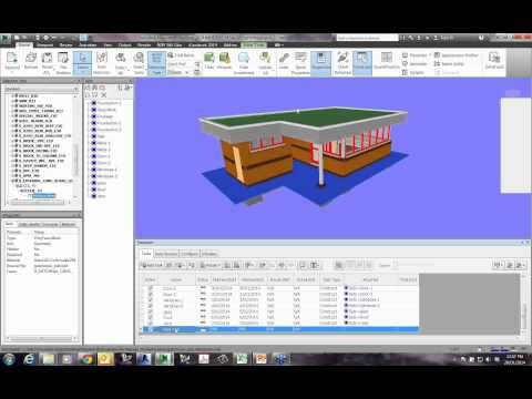 Basics of Navisworks Timelining and Attaching an MS Project File