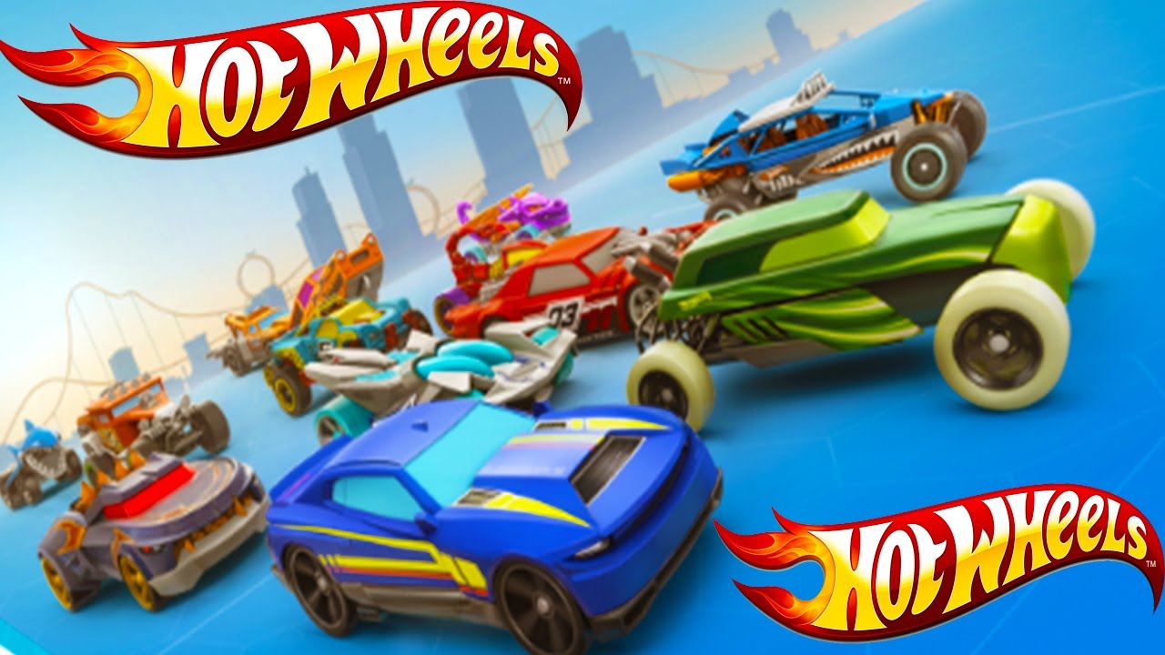 hot wheels race off all cars unlocked