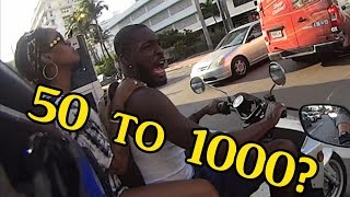 Scooter guy tells me to get a 1000cc?