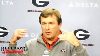 Kirby Smart on Players Skipping Bowl Games to Prepare for the NFL Draft