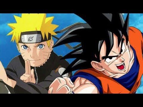 O Encontro De Goku E Naruto Em Dragon Ball Super Completo
